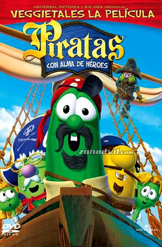 Veggietales- piratas con alma de heroes